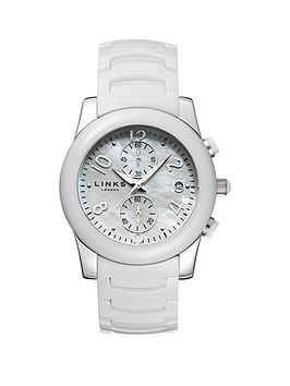 links-of-london-phoebe-chronograph-white-ceramic-ladies