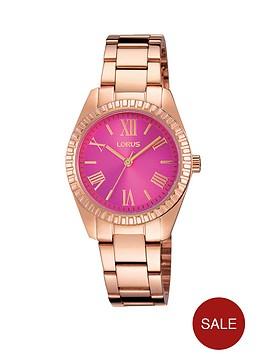 lorus-lorus-pink-sunray-dial-rose-gold-bracelet-ladies-watch
