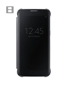 samsung-galaxy-s7-edge-clear-view-case-black