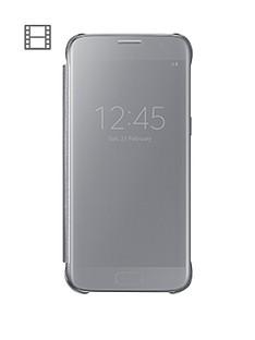 samsung-galaxy-s7-edge-clear-view-case-silver