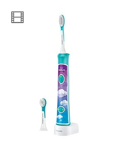 Philips Sonicare for Kids Connected Electric Toothbrush - for iOS & Android - HX6322/04