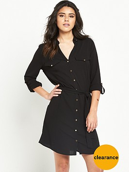 river-island-belted-shirt-dress