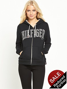 hilfiger-denim-graphic-zip-hoodie