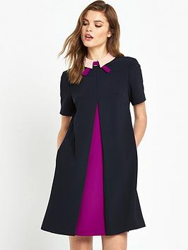 ted-baker-contrast-pleat-front-tunicnbsp