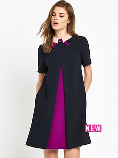 ted-baker-ted-baker-contrast-pleat-front-tunic