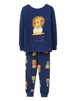 joules-lion-pj-set