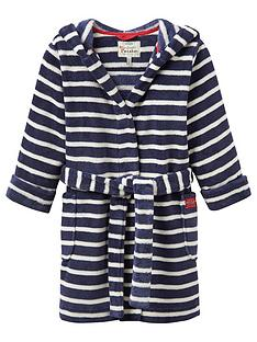 joules-girls-striped-hooded-robe