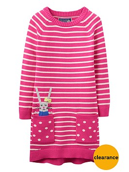joules-girls-bunny-jumper-dress