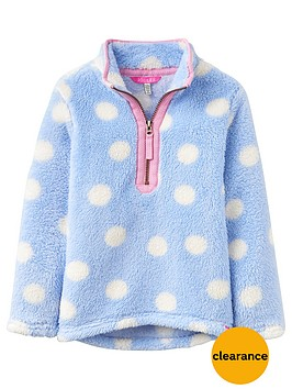 joules-girls-half-zip-spot-merridie-fleece