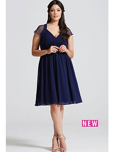 little-mistress-curve-embellished-shoulder-skater-dress