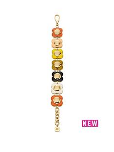 orla-kiely-gold-plated-multi-colour-chunky-flower-bracelet