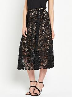 warehouse-lace-prom-midi-skirt