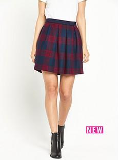 hilfiger-denim-short-check-skirt
