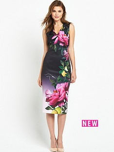 ted-baker-ted-baker-citrus-bloom-pleat-midi-dress