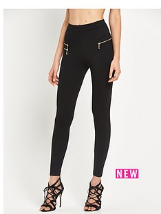 river-island-high-waisted-zip-leggings