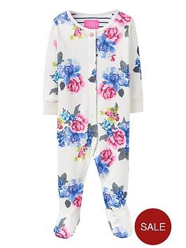 joules-floral-sleepsuit