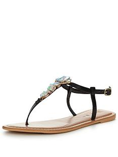 v-by-very-sea-embellished-jewel-toe-post-sandal