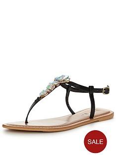 v-by-very-sea-embellished-jewel-toe-post-sandal