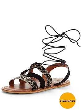 v-by-very-carolina-animal-ghillie-tie-flat-sandal