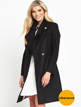 ted-baker-long-wrap-collar-coatnbsp