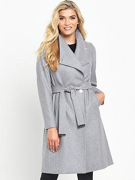 ted-baker-long-warp-collar-coatnbsp