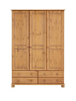 Richmond 3 Door, 4 Drawer Wardrobe