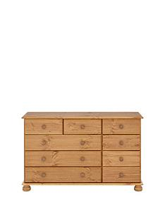 richmond-solid-pine-9-drawer-chest