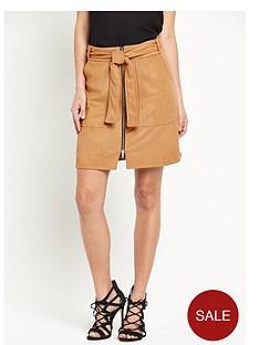 river-island-suedette-belted-skirt