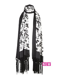v-by-very-conversational-butterfly-print-scarf