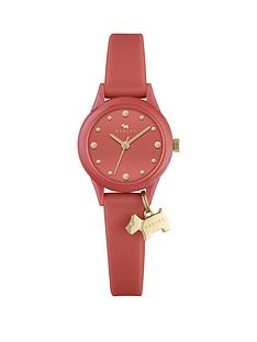 radley-coral-dog-charm-ladies-watch