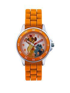 lion-king-orange-time-teacher-kids-watch