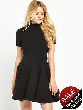 superdry-erin-collar-band-dress-black