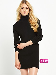 superdry-nordic-knit-funnel-neck-dress