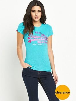 superdry-vintage-logo-tri-entry-t-shirtnbsp--peacock-blue-marl-snowy