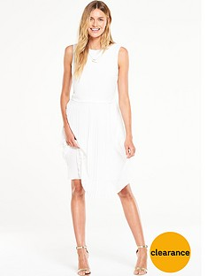 v-by-very-double-layered-pleat-dress