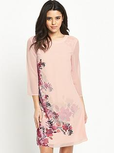 little-mistress-floral-print-shift-dressnbsp
