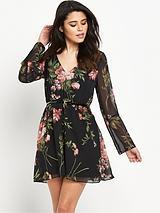 Michelle KeeganRose Print Dress