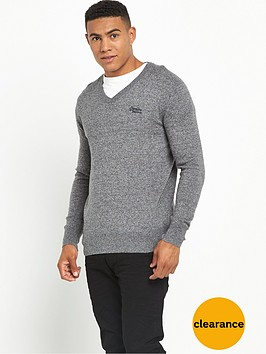 superdry-orange-label-v-neck-jumper