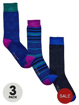ted-baker-3-pack-patterned-socks