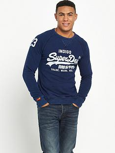 superdry-superdry-classics-true-indigo-crew-sweat