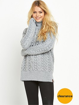 superdry-kiki-cable-sweater-pale-grey