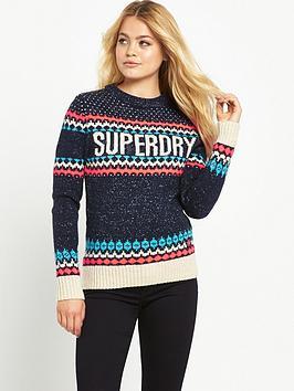 superdry-morzine-knit-sweater-navy