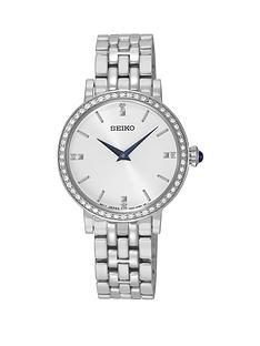 seiko-seiko-white-sunray-dial-swarovski-crystal-set-blue-hands-ladies-bracelet-watch