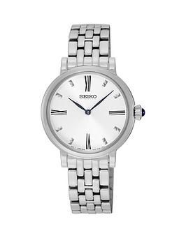 seiko-seiko-white-sunray-dial-blue-hands-ladies-bracelet-watch
