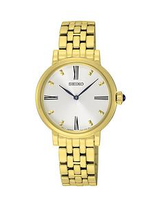 seiko-seiko-white-sunray-dial-gold-tone-steel-gold-tone-bracelet-ladies-watch