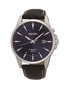 seiko-seiko-kinetic-stainless-steel-blue-dial-black-leather-strap-mens-watch
