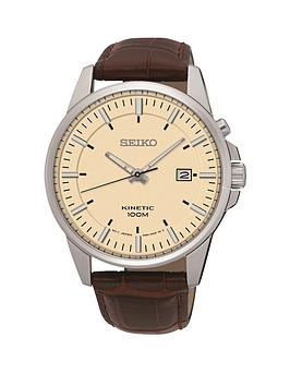 seiko-seiko-kinetic-cream-dial-stainless-steel-brown-leather-strap-mens-watch