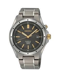 seiko-seiko-kinetic-grey-dial-gold-tone-markers-titainium-bracelet-mens-watch