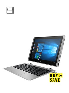 hp-x2-10-n103na-intelreg-atomtrade-processor-2gb-ram-64gbnbsphard-drive-emmc-10-inchnbsptouchscreen-2-in1-laptop-with-intelreg-hd-graphics-includes-microsoft-office-mobilenbsp--silver