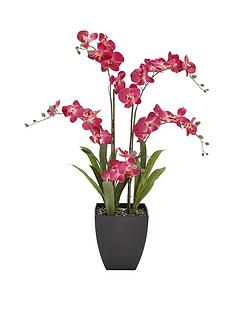 5-stem-3ft-artifical-orchid-in-pot-ndash-pink